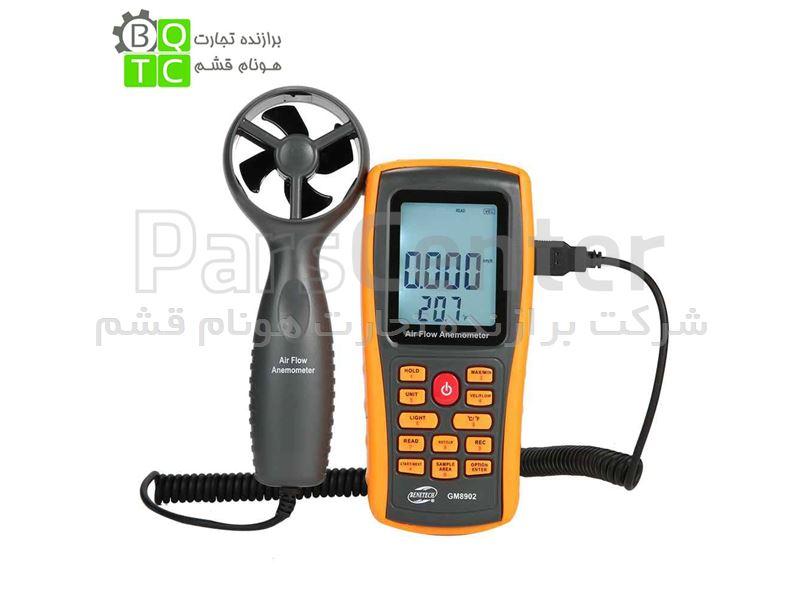 فلومتر هوا ، سرعت سنج باد بنتک مدل +GM8902