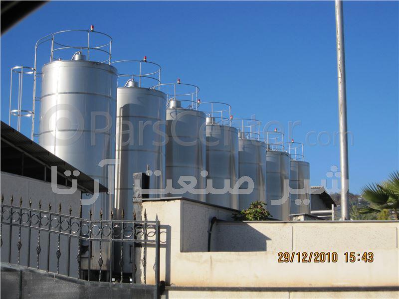 مخزن ذخیره سازی صنایع غذایی