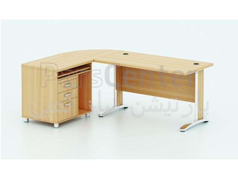 میز کارشناسی پایه فلزی ثمین مدل 7215