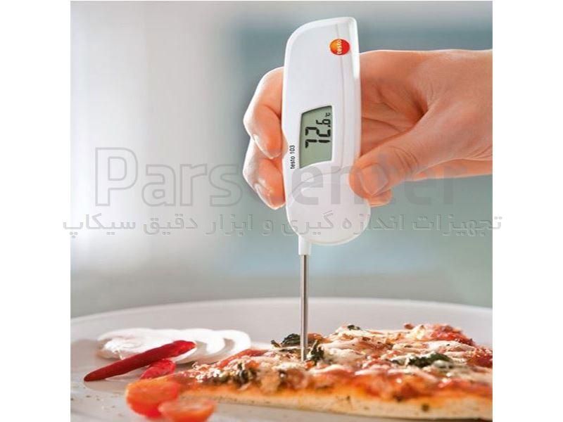 دماسنج نفوذی مواد غذایی با دقت بالای تستو مدل TESTO 103