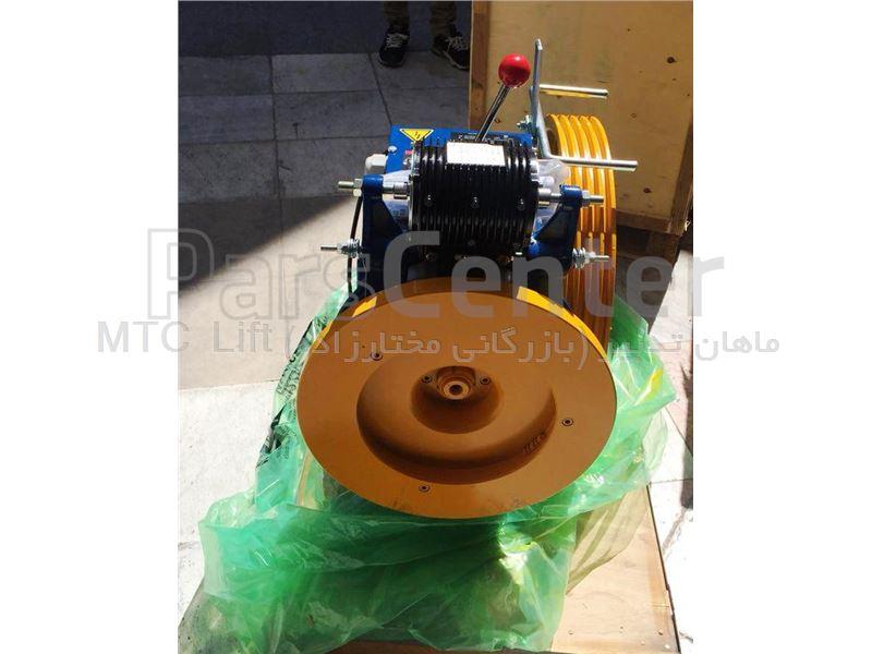 موتور گیربکس آسانسور  آلبرتو ساسیS38