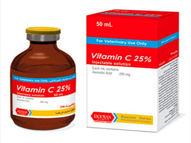 ویتامین ث %25   Vitamin C 25%