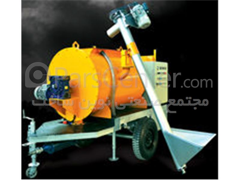 دستگاه فوم بتن تک فاز - محصولات پمپ بتن در پارس سنتر... دستگاه فوم بتن تک فاز