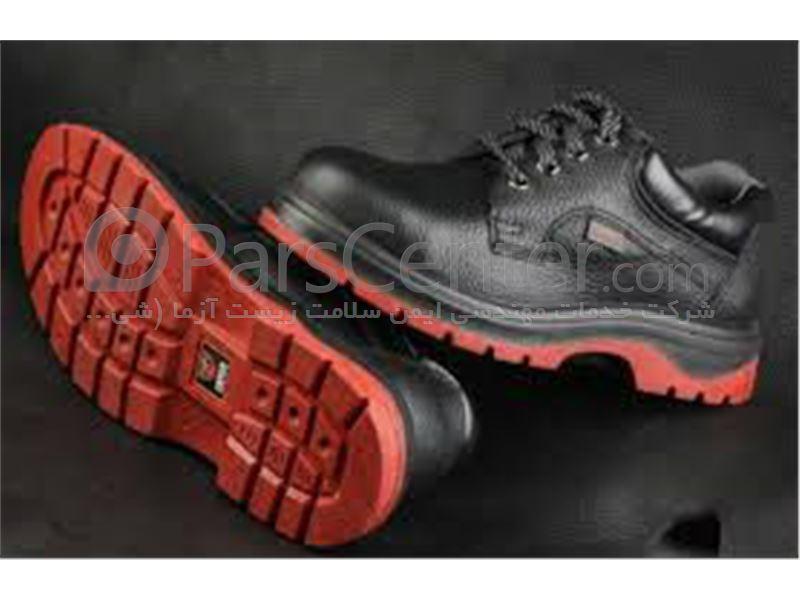 کفش ایمنی پنجه فولادی با زیره PU/Rubber عایق حرارت دیر سوز