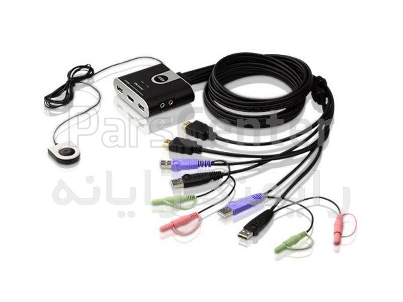 کی وی ام سوییچ 2 پورت مدل CS-692HDMI