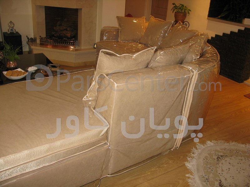پیراهن مبل یا کاور مبل سرویس ال ژلاتینی