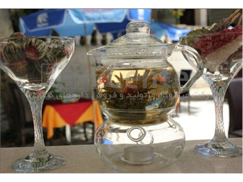 چای جاسمین اصل زرد ؛ بنفش
