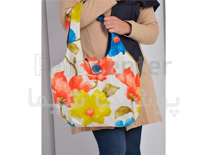 کیف پارچه ای طرح ستاره ای پوشاک شیما