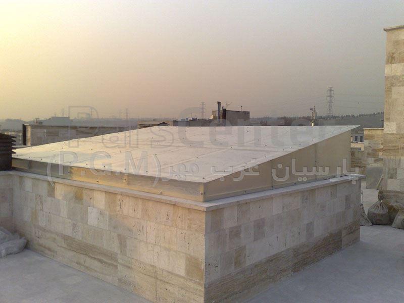اجرای نور گیر پشت بام ( یوسف آباد )