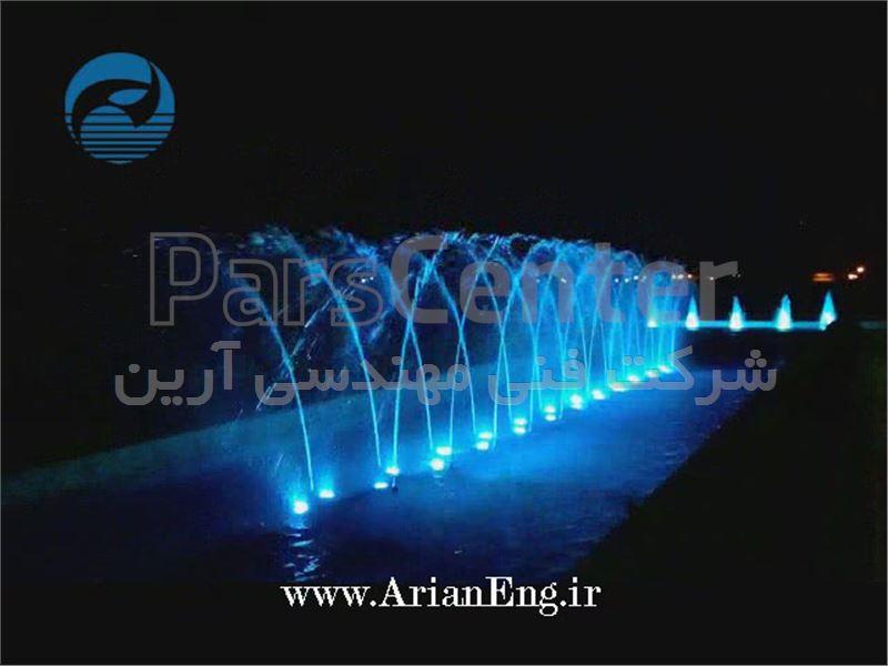 پروژکتور LED ضد آب روکار 9 وات RF