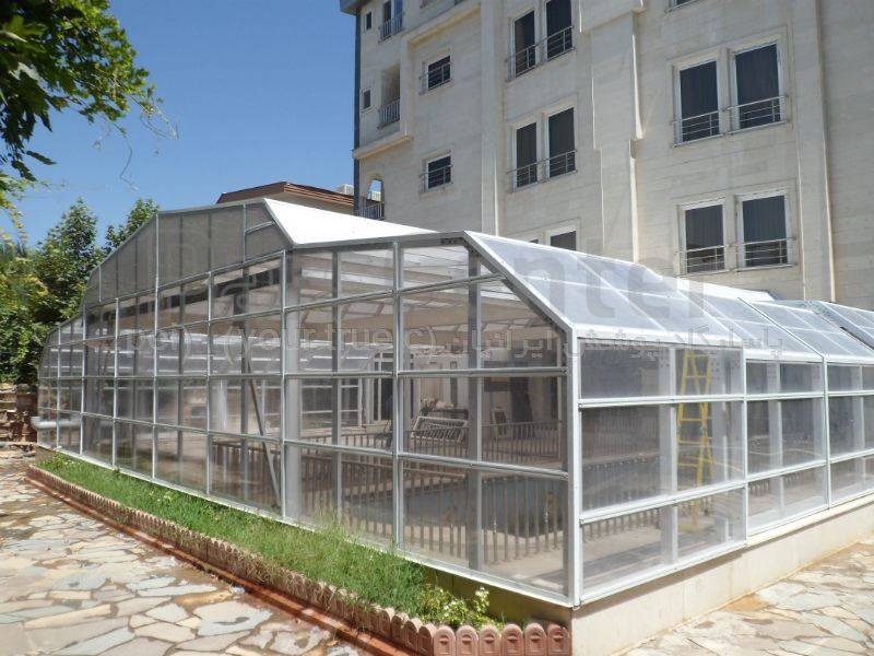 pool enclosures   - پوشش استخر مدل T- LC (مهرشهر کرج - بلوار دانش )