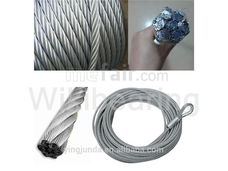 6 Strand Excavating wire rope