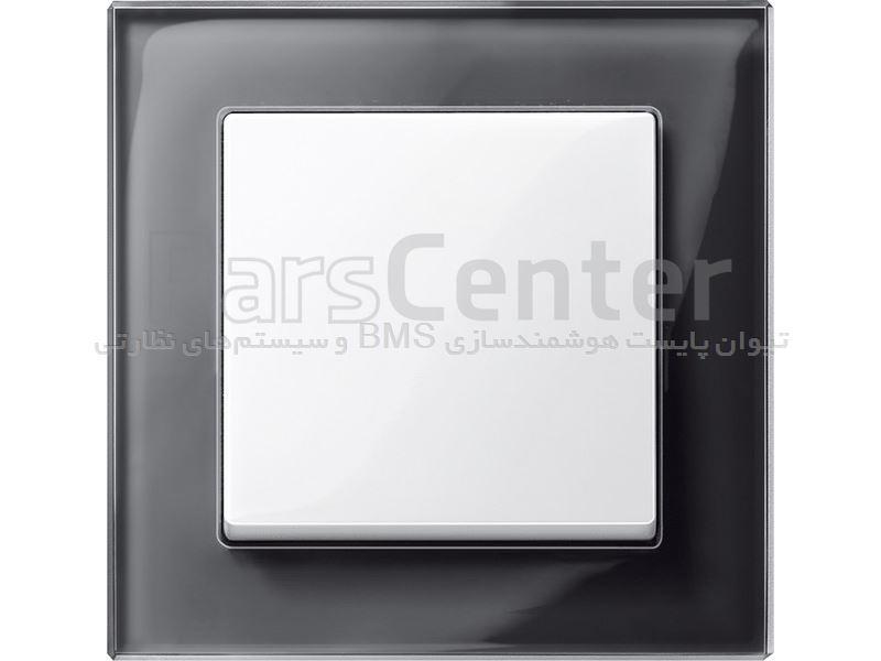 کلید و پریز اشنایدر مدل ام-پلان (M-Plan) با کادر شیشه