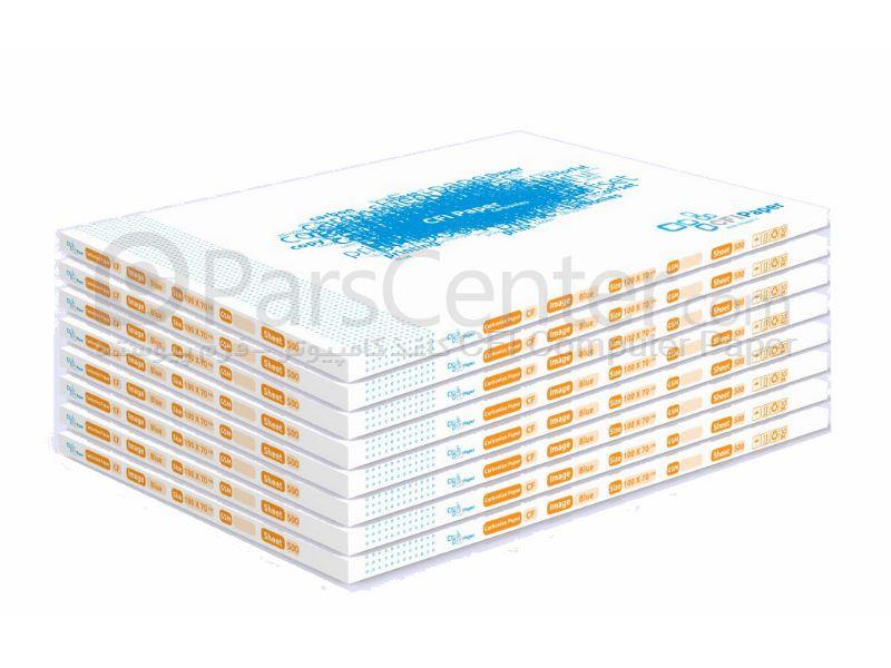 فروش ویژه کاغذ کاربن لس بند 500 ورقی CFI Paper  70×100 زرد CF