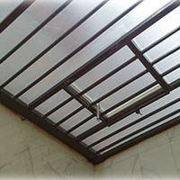 سقف پاسیو با سازه حصاری