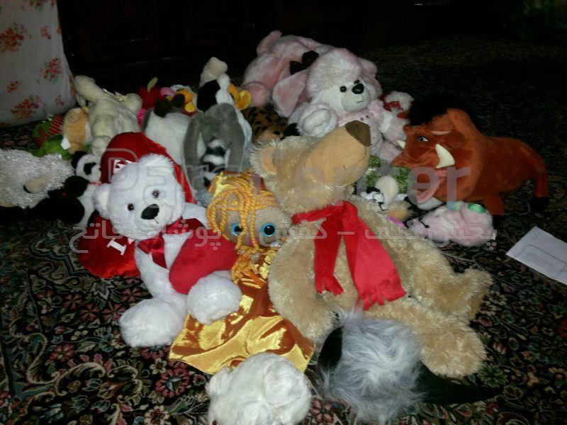 عروسک عمده متنوع با کیفیت