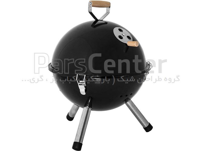 باربیکیو (کباب پز) گرد ذغالی سایز 12 اینچ