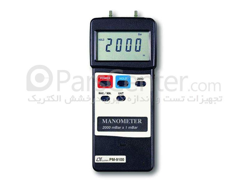 مانومتر لوترون مدل PM-9100