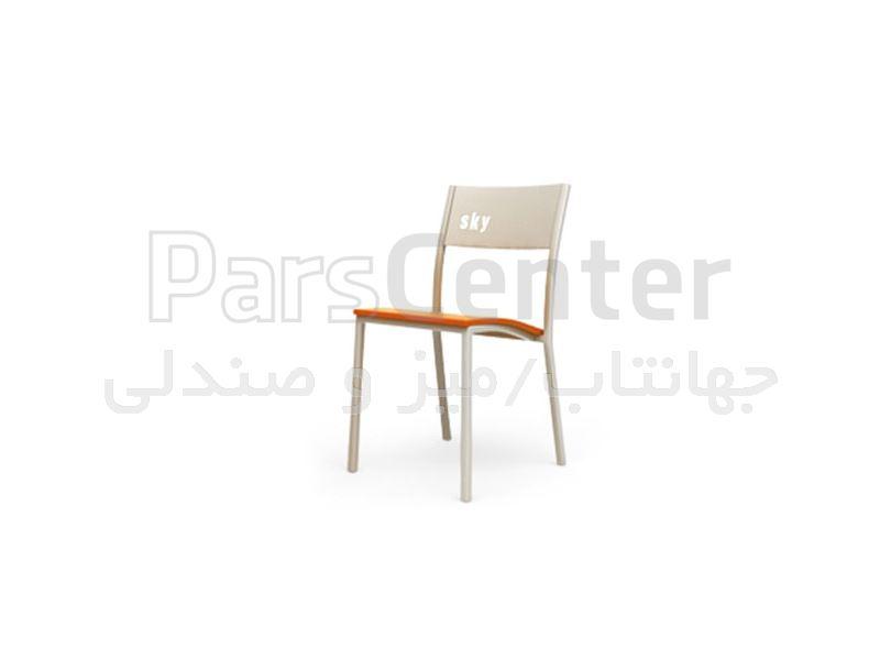 صندلی فلزی فست فودی مدل آدریا Logo (جهانتاب)