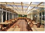 سیستم پوشش سقف متحرک رستوران مدل ال 12   The restaurant El movable roof system