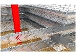 سینی کابل برق 30 سانتی متری