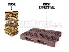 -- پالت پلاستیکی پابکو -- پالت پلاستیکی مشبک RSPT1208 /80×120×15 cm
