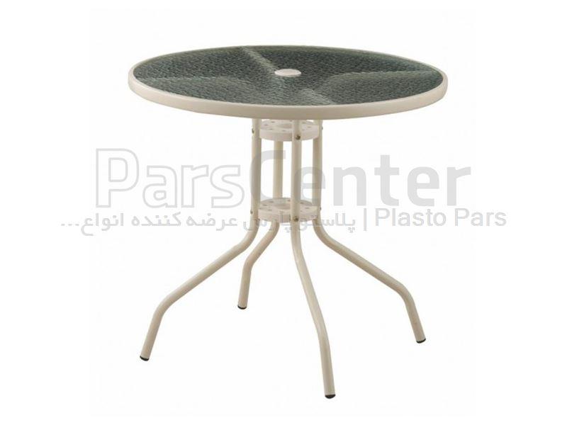 میز مدرن قطر 80 کد 101735