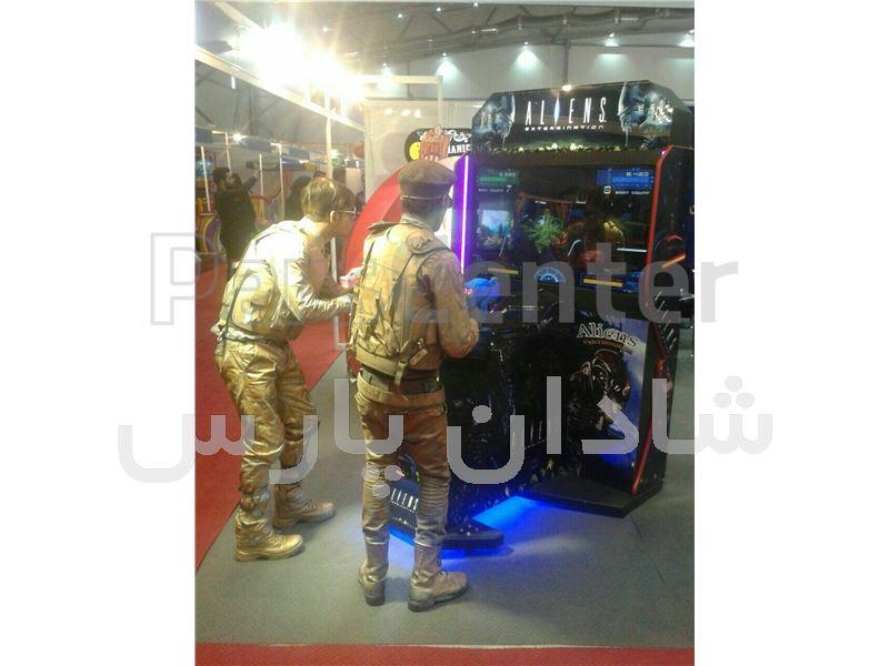 نمایندگی فروش دستگاه بازی اسلحه تیکتی شهربازی