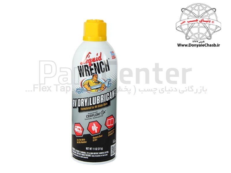 اسپری روان کننده خشک گانک GUNK Dry Lubricant with no oily residue آمریکا