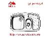 سینک ظرفشویی توکار کد 608 استیل البرز