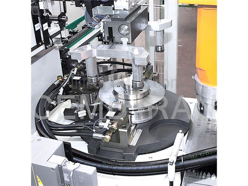 Balancing Machine for Brake Disks