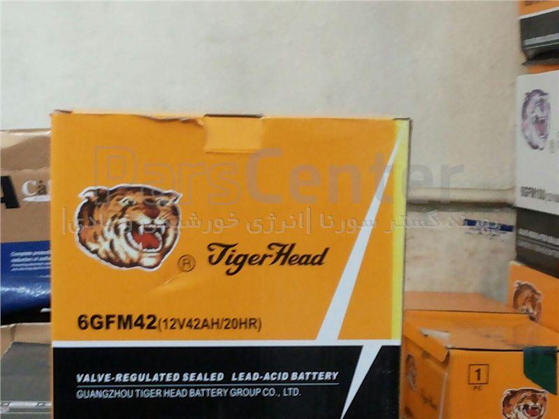 باطری سیلد لید اسید 120 آمپرساعت  Tiger Head