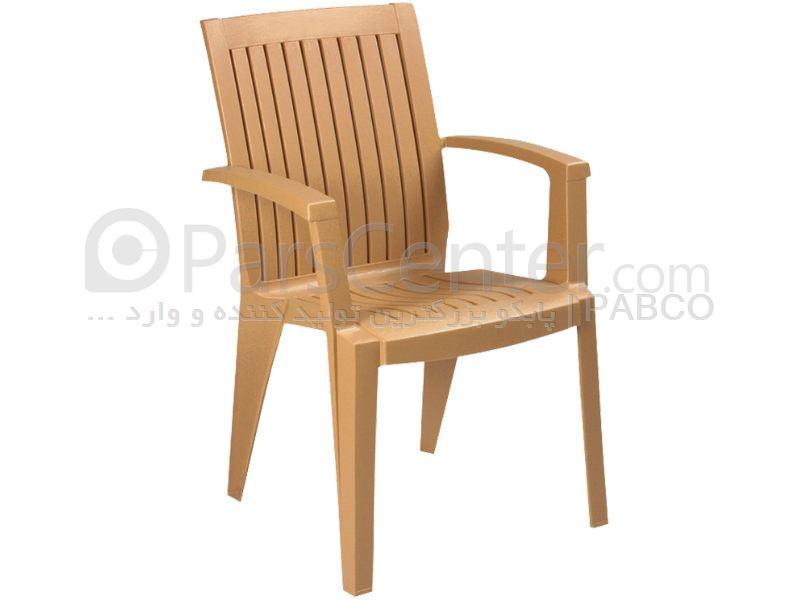 صندلی پلاستیکی ویلائی آلیز (ترک)