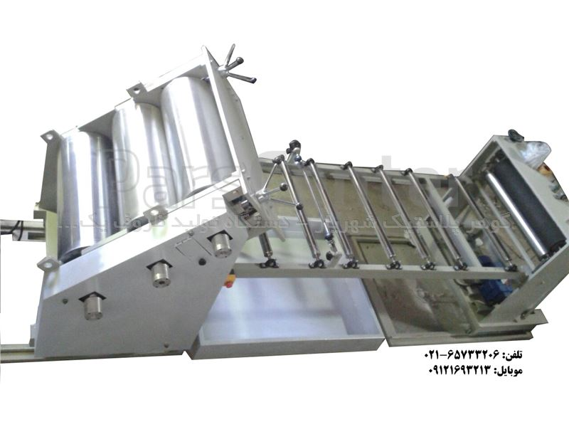 خط کامل دستگاه کلندر گوهر پلاستیک
