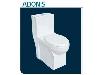 توالت فرنگی چینی کرد مدل آدنیس آکس 22