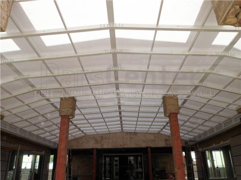 Building skylight_ نورگیر لابی ساختمان  مجتمع تجاری دندانپزشکی ابریشم - بزرگراه نواب صفوی