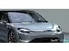 رونمایی خودرو Vision S سونی