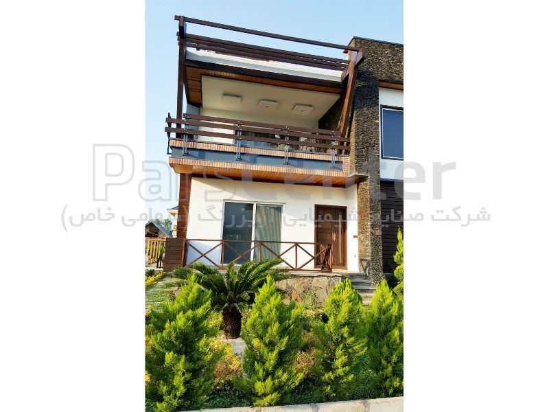 نرده و پرگولا چوبی ، شهرستان نور