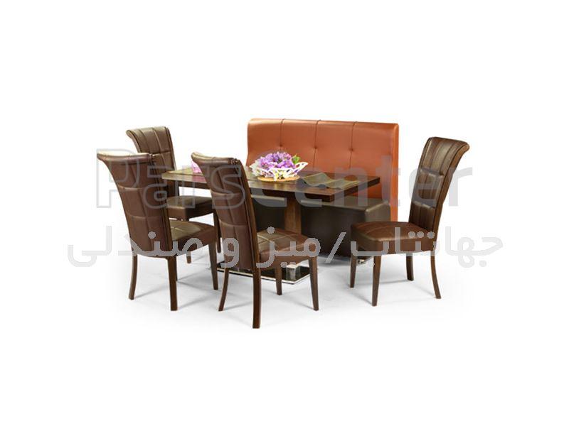 کاناپه رستورانی مدل الیوت (جهانتاب)
