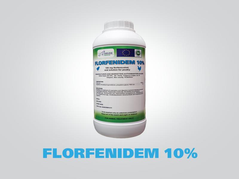 FLORFENIDEM 10%