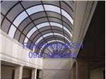 اجرای سقف (نورگیر مجتمع تجاری پارسیان کرج)