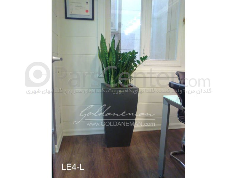 گلدان کامپوزیت مدرن/ کد 2-LE4
