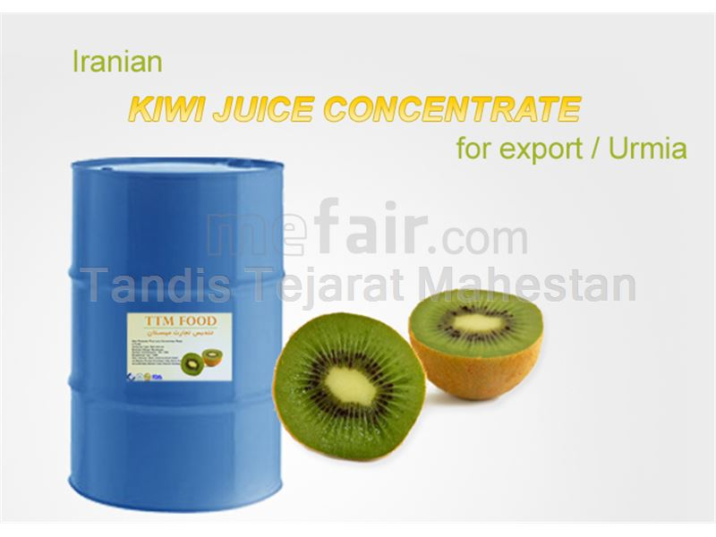 Kiwi Juice Concentrate, packed in 265 kg metal drums