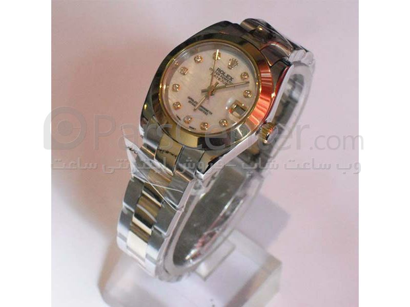 ساعت رولکس high copy مدل  DATEJUST- شیشه ضد خش -بند استیل