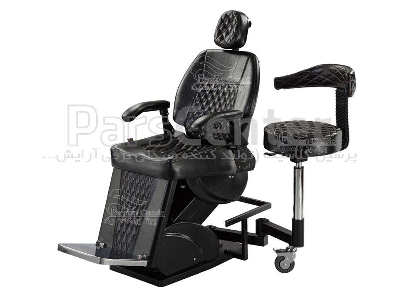 صندلی برقی آرایشگاهی vip مردانه باربردار