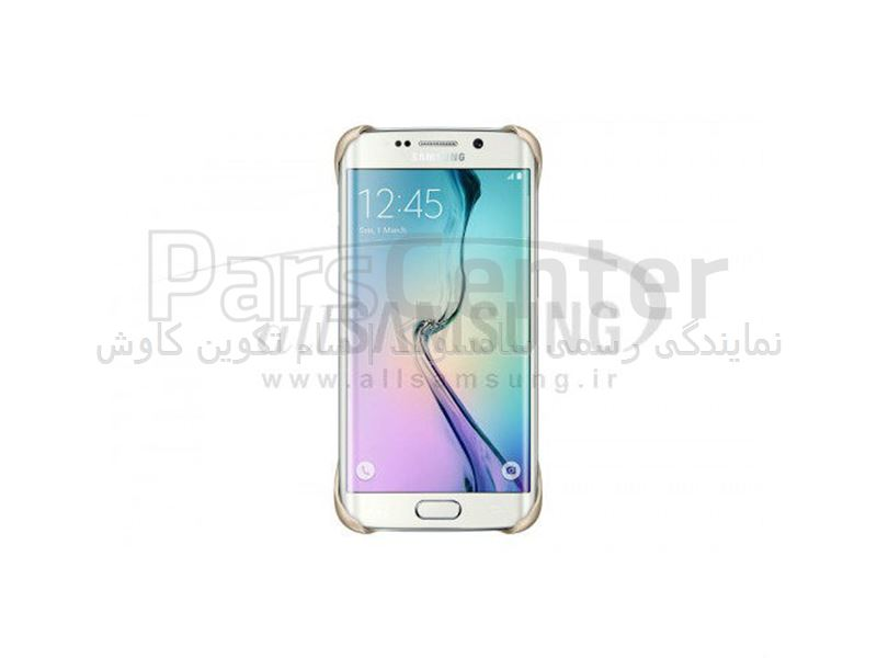 Samsung Galaxy S6 Edge Protective Cover Gold پروتکتیو کاور طلایی گلکسی اس 6 اج سامسونگ