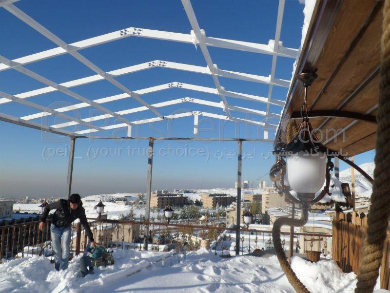 سایبان درب ورودی و بالکن .7 canopy