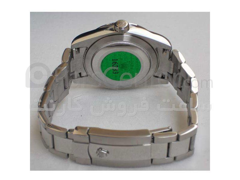 ساعت رولکس مدل daydate- شیشه ضد خش -بند استیل- سه موتوره