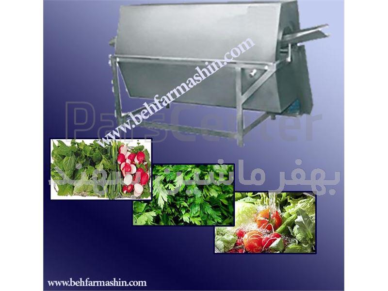 دستگاه شستشو سبزیجات یا بلانچر