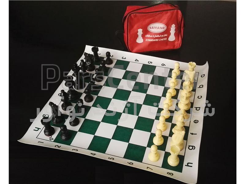 شطرنج فدراسیونی ممتاز ، میز شطرنج ، مهره شطرنج ، صفحه شطرنج